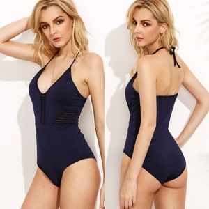 Other - 🆕Royal blue cutout ladder side one piece swimsuit